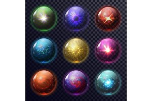 Magic spheres or balls for future