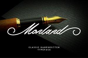 Monland    Elegant  Handwritten