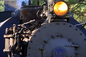 1880 Steam Engine Train 2