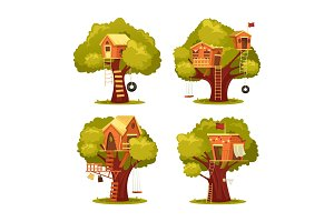 Treehouse for kids or children