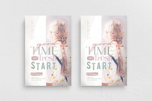 A Good Time For A Fresh Start Flyer