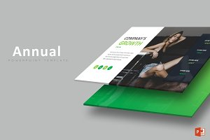 Annual Business - Powerpoint Templat
