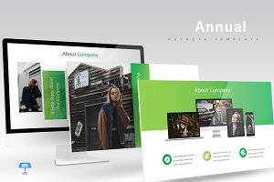 Annual Business - Keynote Template