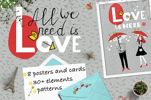 All we need is LOVE |  Graphics