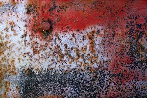 Rusted Red Metal