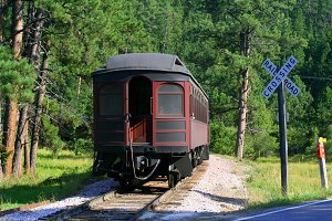 1880 Steam Train Caboose