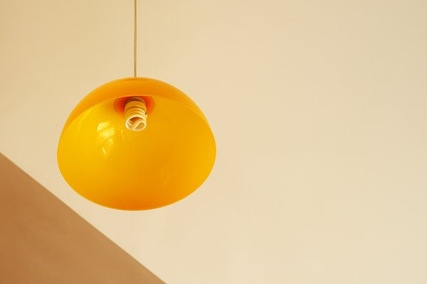 Abstract Stock Photos - Abstract photo with lamp on ceiling