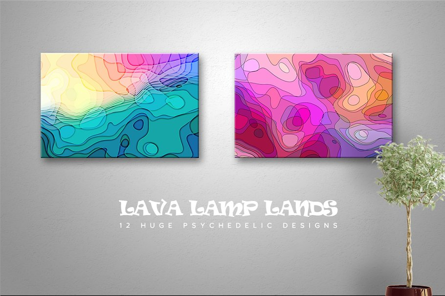 Lava Lamp Lands