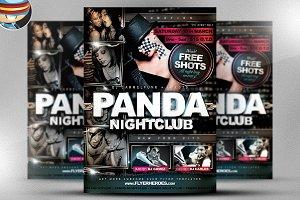 Panda Fresh Nightclub Flyer Template
