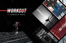 Workout Social Media Template