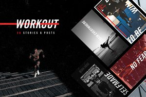 Workout Social Media Template