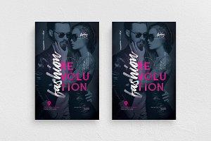 Fashion Revolution Flyer Template