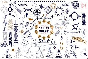 Native American Graphics & Patterns