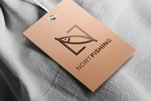 North Fishing Apparel Letter N Logo