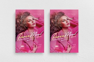 Fierce Mind Flyer Template