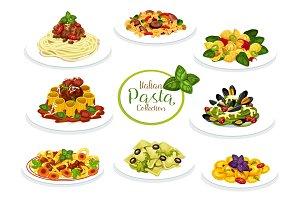 Pasta, spaghetti and macaroni dishes