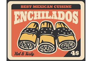 Mexican enchilada sandwiches