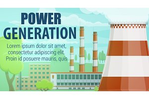 Thermal power plant, industry