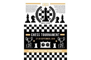 Chessboard with chess pices