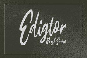 Edigtor - Rough Script
