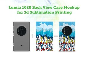 Lumia 1020 3d SublimationCaseMockup