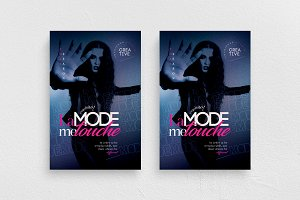 La Mode Me Touche Flyer Template