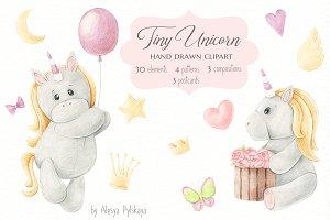 Tiny Unicorn Design Set