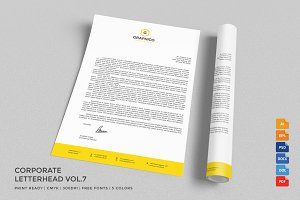 Corporate Letterhead 7 with MS Word