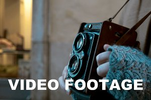 Making photo or video with retro