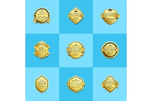 Set of Premium Quality Best Gold