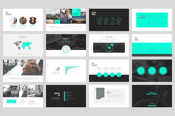 portfolio powerpoint template presentation templates creative