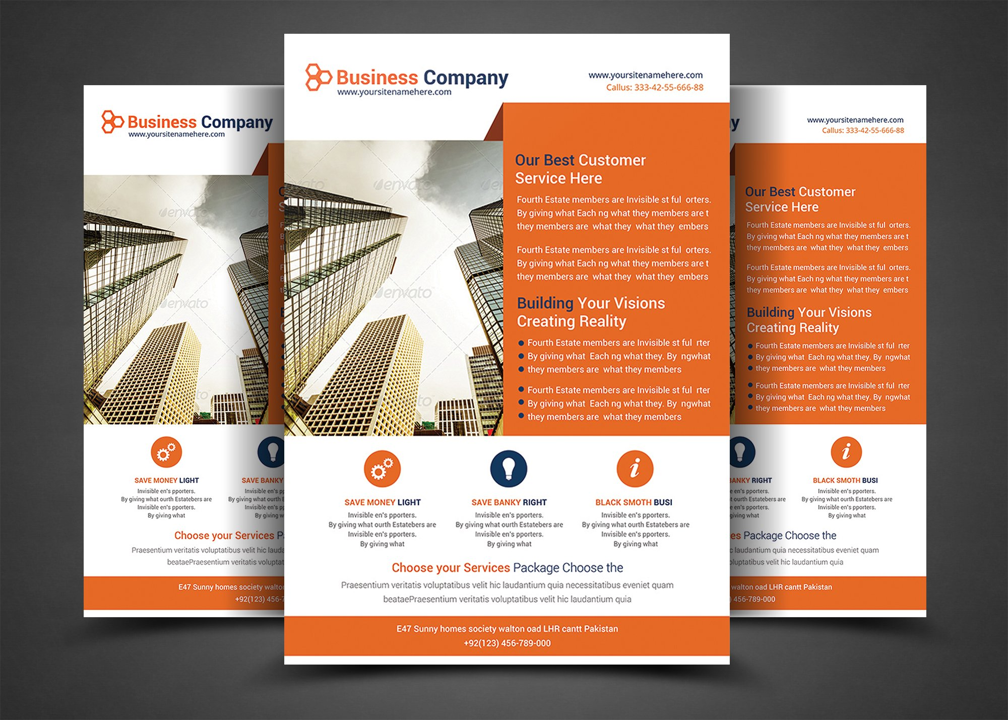 it job cover letter business planner flyers templates flyer templates 22614 | flyer mock up 01