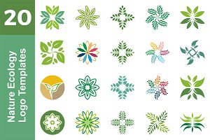 20 Logo Nature Ecology Bundle