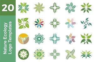 20 Logo Nature Ecology Bundle