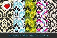 Ethnic motif. Seamless pattern 2