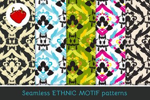 Ethnic motif. Seamless pattern 2