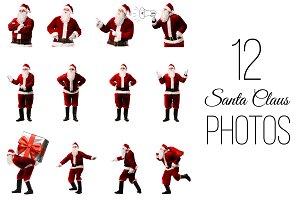 12 Santa Claus Photos
