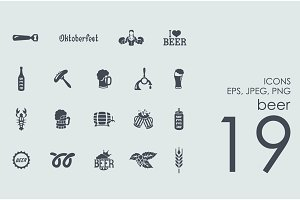 19 beer icons