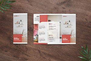 Trifold Interior Brochure - V04