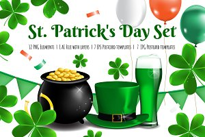 St. Patricks Day Vector Set