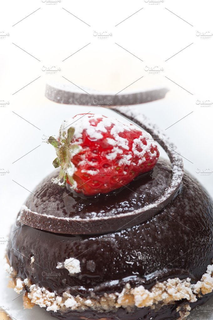 chocolate and strawberry mousse 007.jpg - Food & Drink