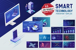 Smart Tech PPT Template (Small Pack)
