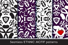 Ethnic motif. Seamless pattern 3