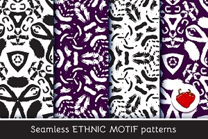 Ethnic motif. Seamless pattern 3