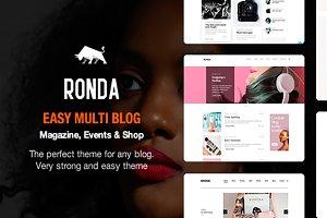 Ronda - Blog & Shop Wordpress Theme