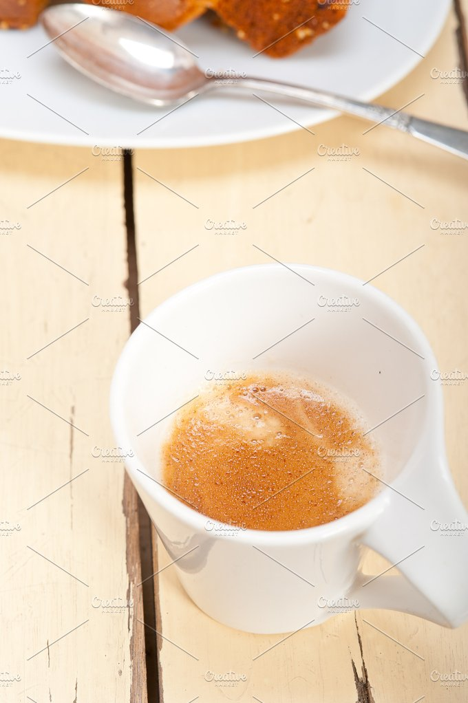 plum cake and espresso coffee 016.jpg - Food & Drink