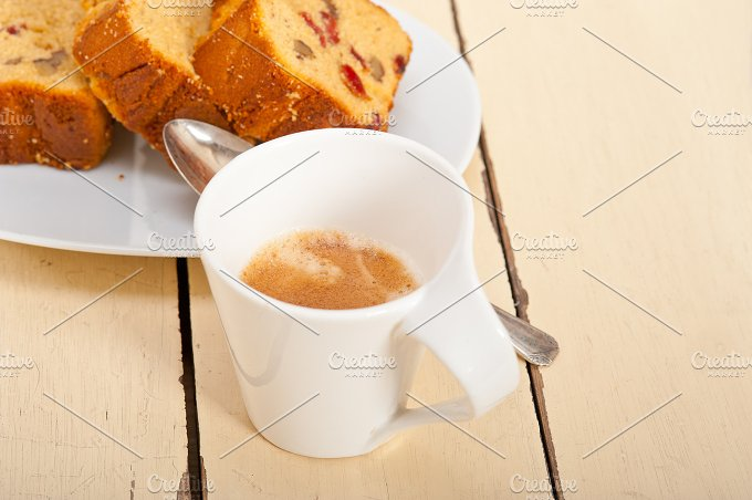 plum cake and espresso coffee 006.jpg - Food & Drink