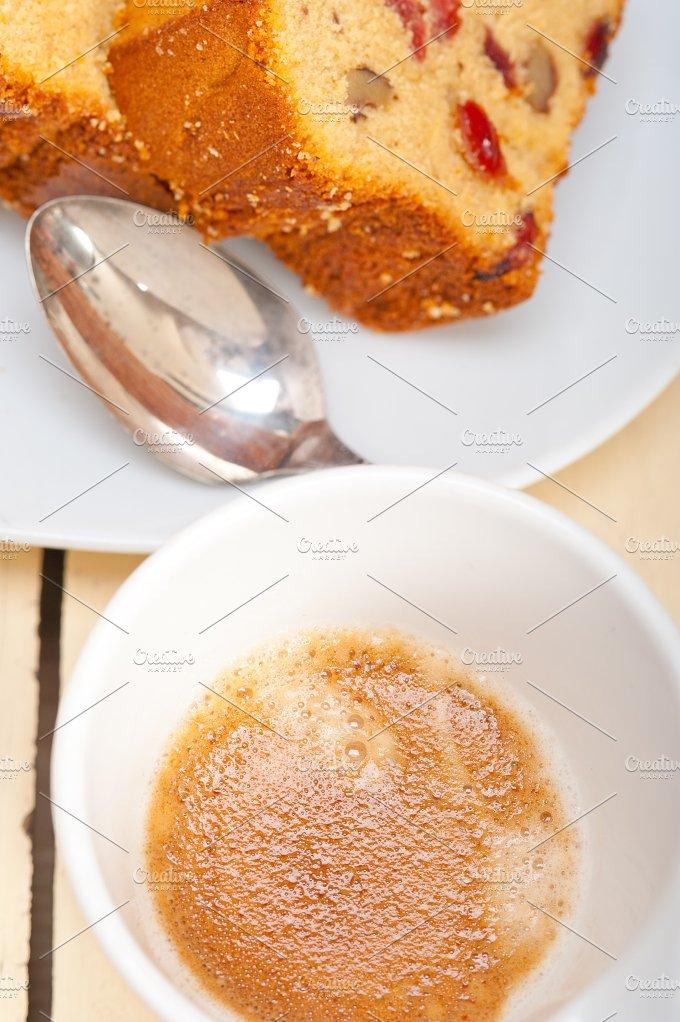 plum cake and espresso coffee 008.jpg - Food & Drink