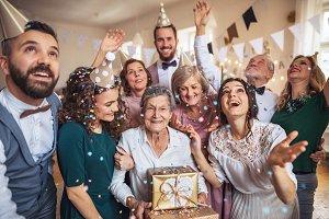 A portrait of multigeneration family