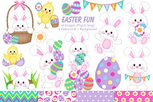 Easter Clipart & Paper
